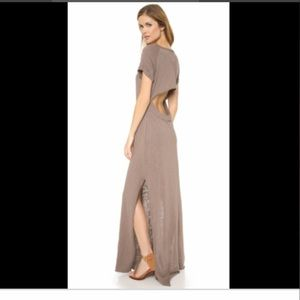 Free People Dresses - FREE PEOPLE Odessa maxi dress knit open back S